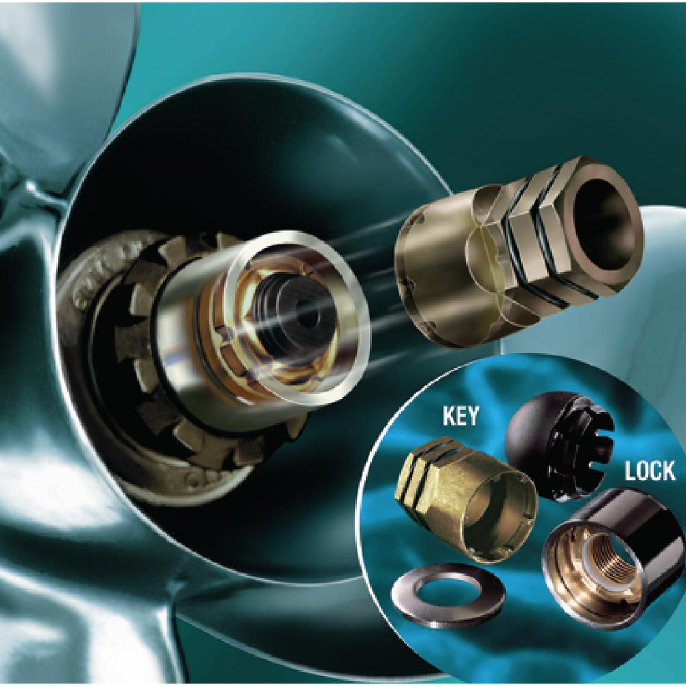 Propeller Lock Set 5/8-11 Thread Size (Johnson/Evintrude) 40 HP to 130 HP