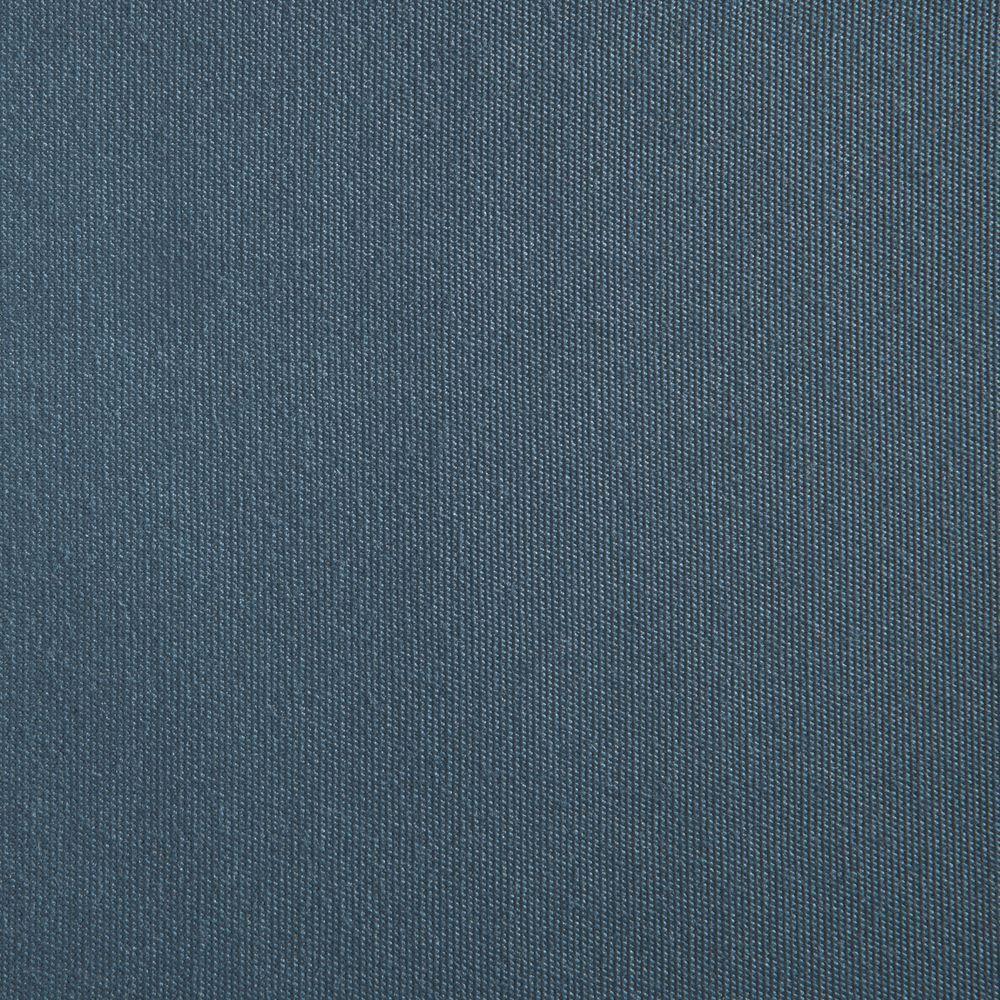 Hampton Bay Edington Sunbrella Canvas Sapphire Patio Dining Chair Slipcover (2-Pack)
