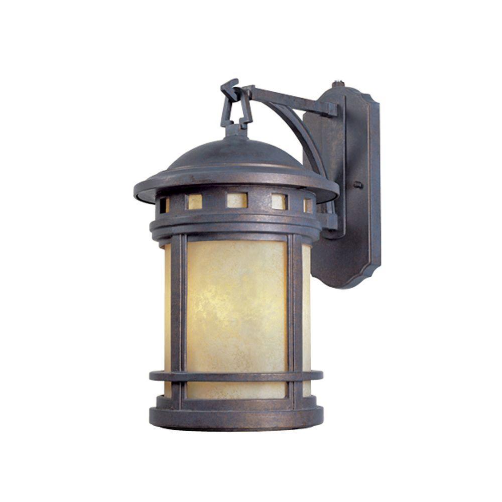 mediterranean outdoor lighting. Designers Fountain Mesa Collection 3-Light Mediterranean Patina Outdoor Wall-Mount Lantern Lighting O