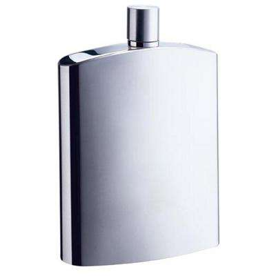 David Brushed Stainless Steel Liquor Flask