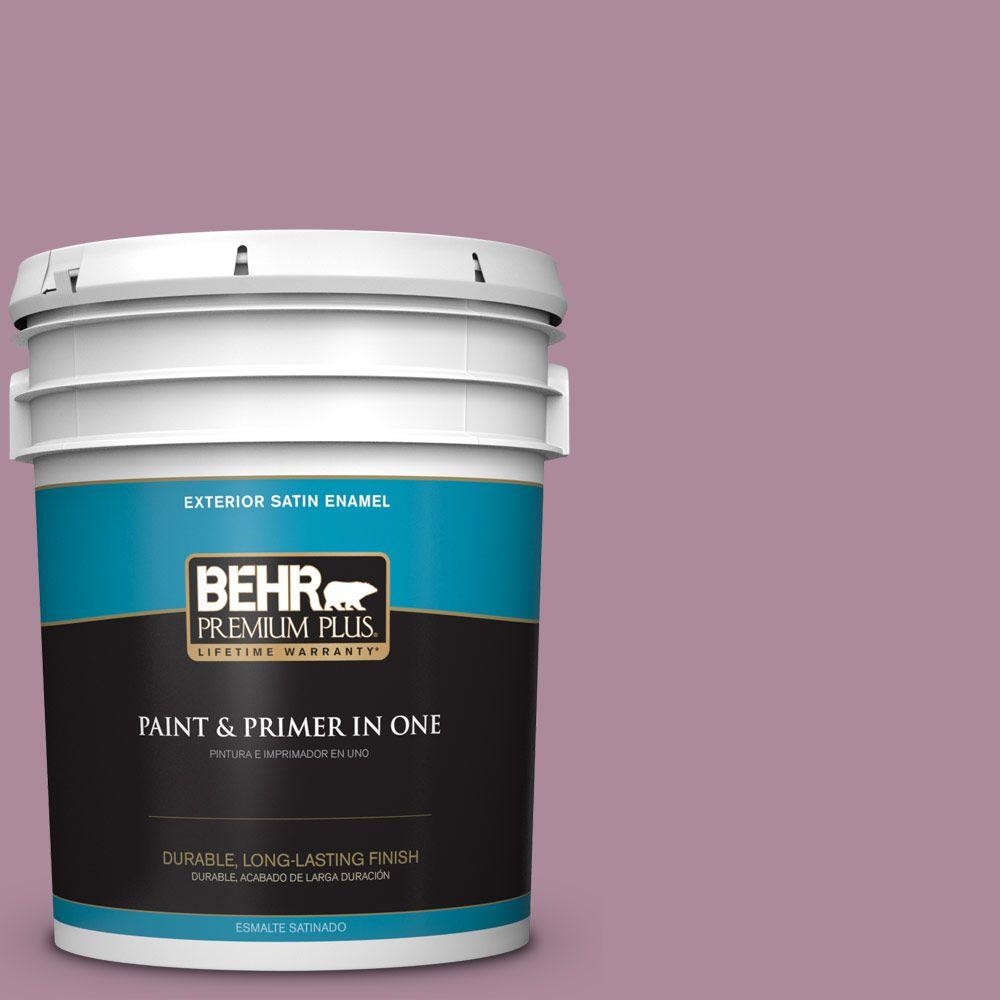 5-gal. #S120-5 Reserve Satin Enamel Exterior Paint