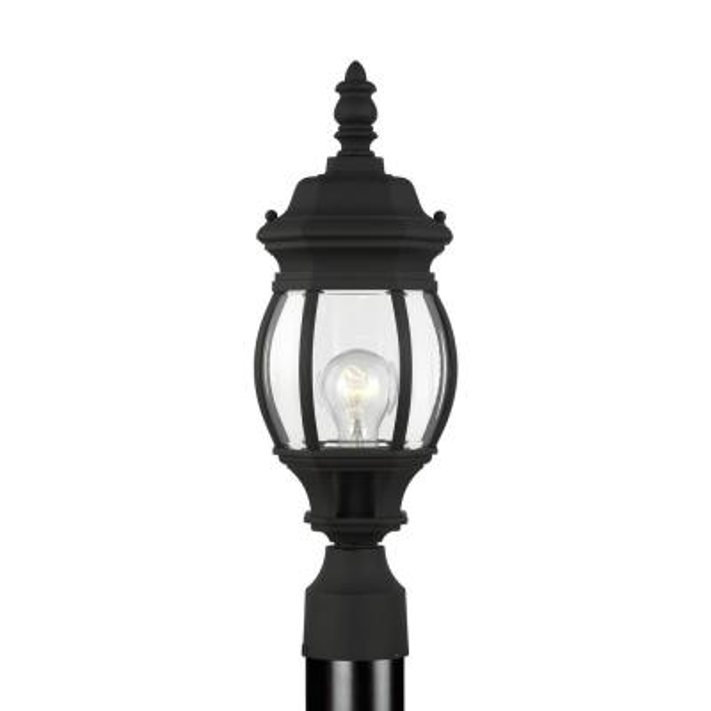 Wynfield 1-Light Black Outdoor Post Lantern