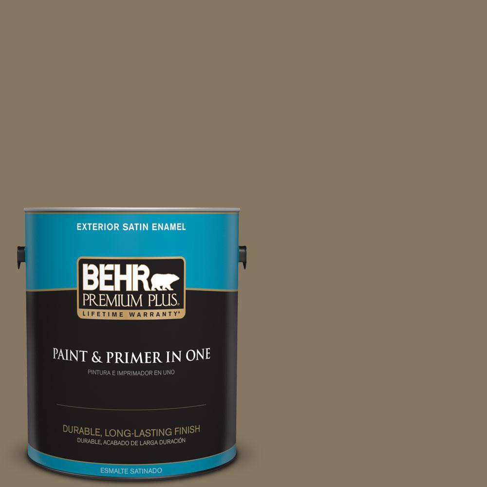 1-gal. #N310-6 Palm Desert Satin Enamel Exterior Paint