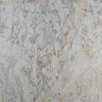 3 in  x 3 in  Granite Countertop Sample in Aspen White