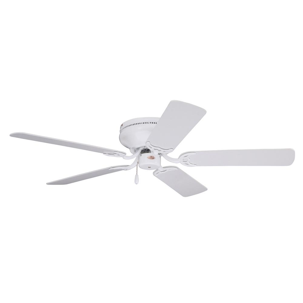 emerson ceiling fans emerson snugger 52 in led appliance white ceiling fan 10821