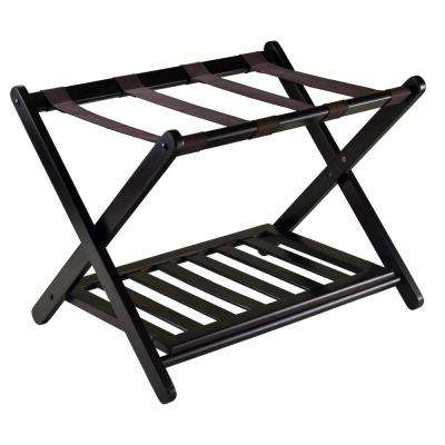 Reese Luggage Rack with Shelf