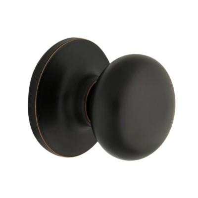Round Aged Bronze Hall and Closet Door Knob