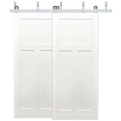 Byp 3 Panel Solid Core Primed Pine Wood