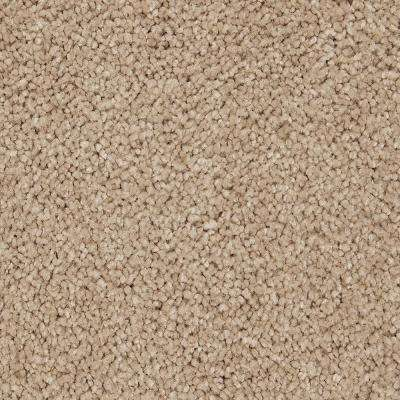 Carpet Sample - Castle II - Color Camelot Textured 8 in. x 8 in.