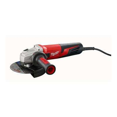 13 Amp 6 in. Small Angle Grinder with Slide Lock-On Switch