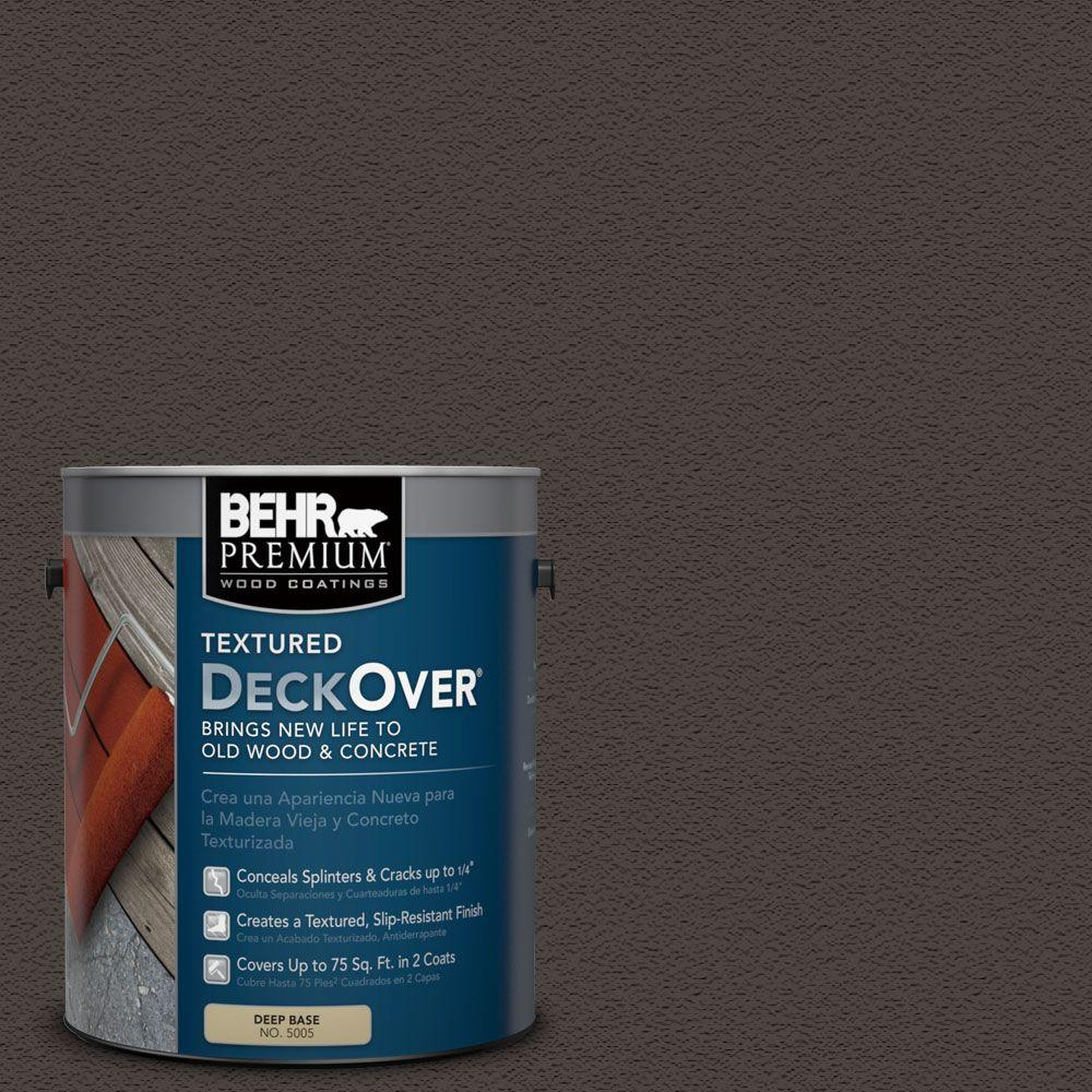 1 gal. #SC-104 Cordovan Brown Wood and Concrete Coating