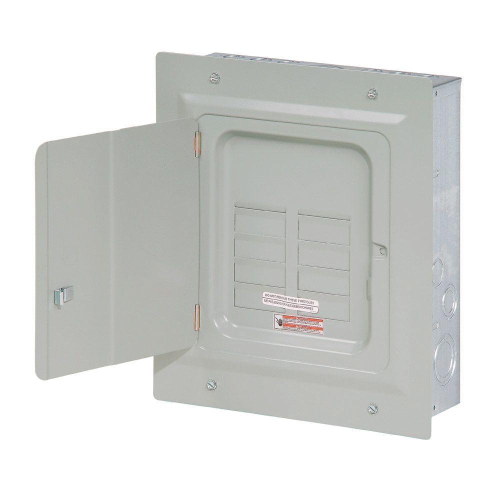 Eaton BR 125 Amp 6-Space 12-Circuit Indoor Main Lug Loadcenter with ...