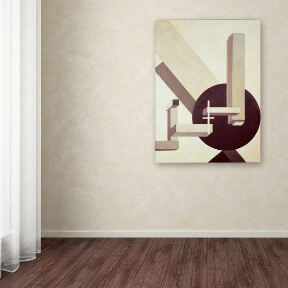 Trademark Fine Art 24 in. x 18 in. Proun 10 Canvas