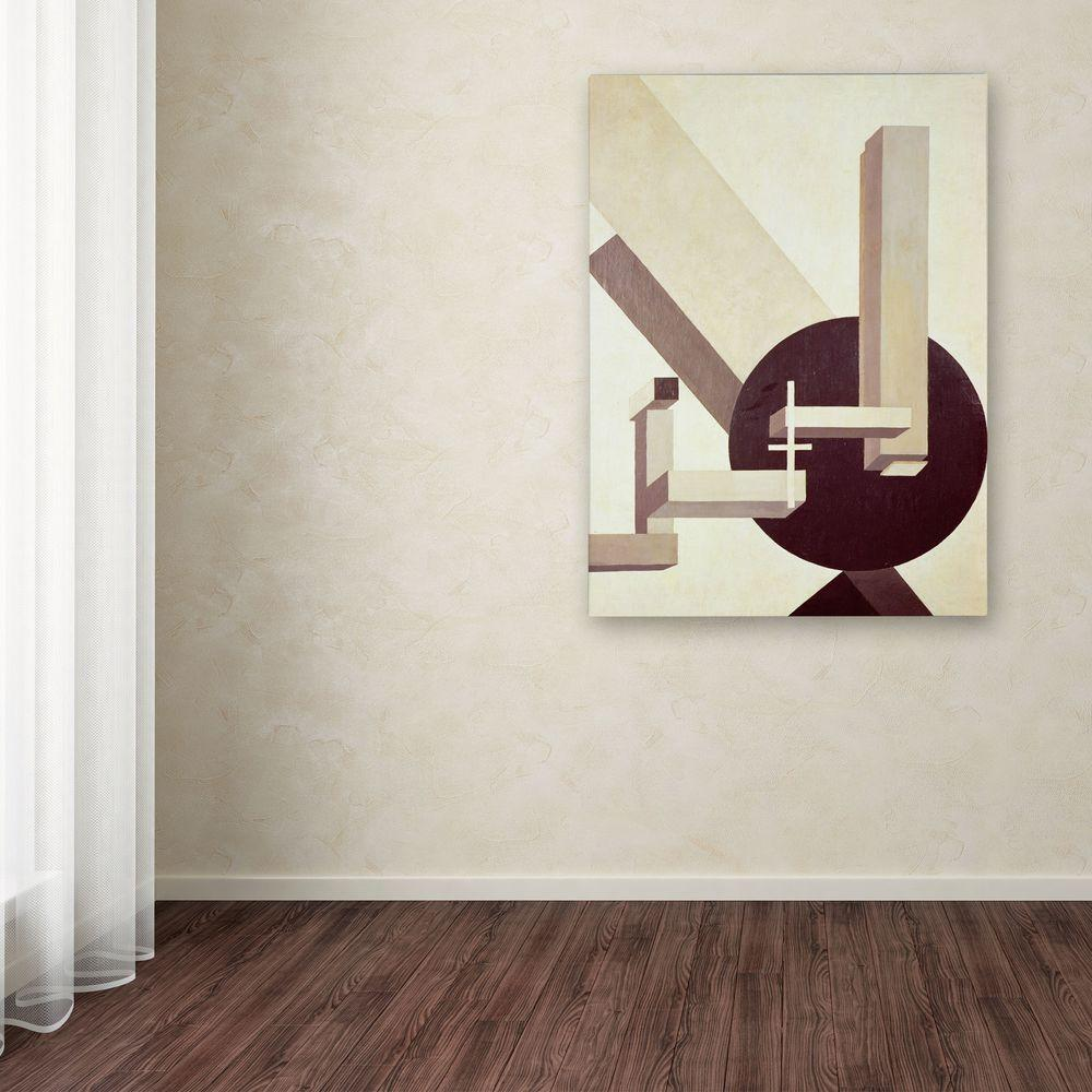 Trademark Fine Art 32 In X 24 Proun 10 Canvas