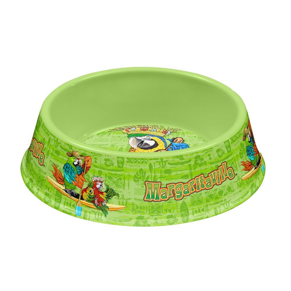 Margaritaville Tropical Icons Medium Pet Bowl in Green