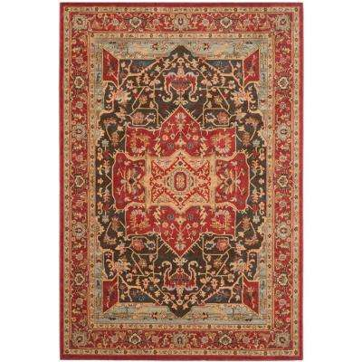 Mahal Red 7 ft. x 9 ft. Area Rug