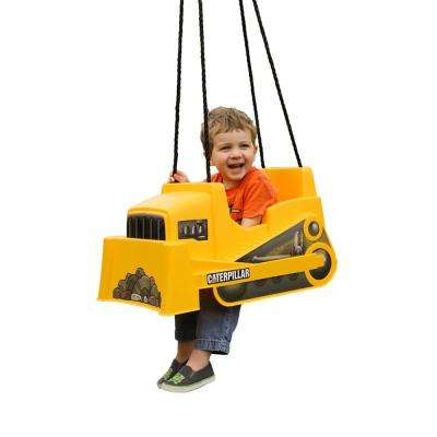 Caterpillar Dozer Toddler Swing