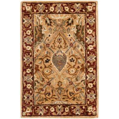 Persian Legend Ivory/Rust 3 ft. x 5 ft. Area Rug