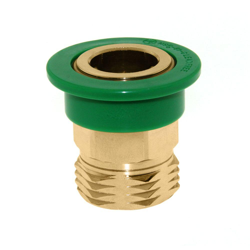 NEOPERL 3/4 in. Solid Brass Small Snap Coupler-97259.05 - The Home Depot