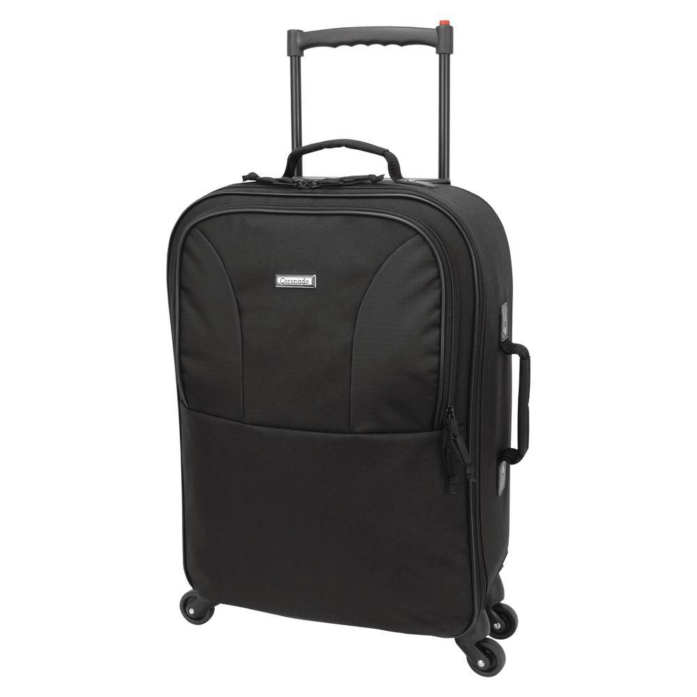 Mercury Luggage 22 in. Upright Swivel Wheels, Black