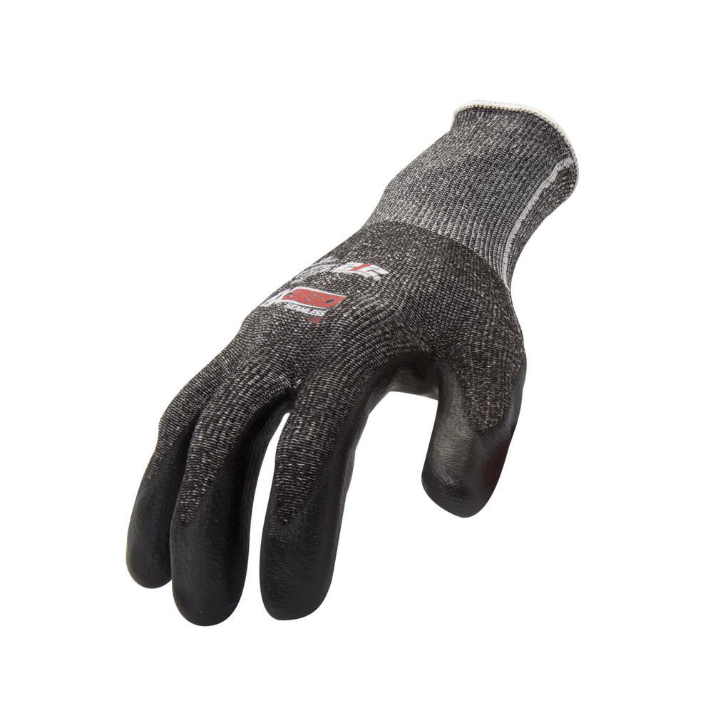 Large Foam Nitrile-Dipped Cut Resistant Work Glove (12-Pair/Pack)