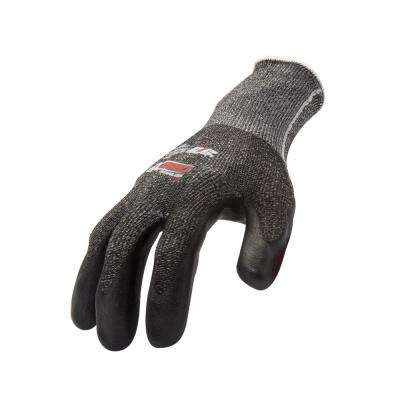 AX360 Foam Nitrile-dipped Large Cut Resistant Work Gloves (EN Level 5, ANSI A3) 12-Pairs