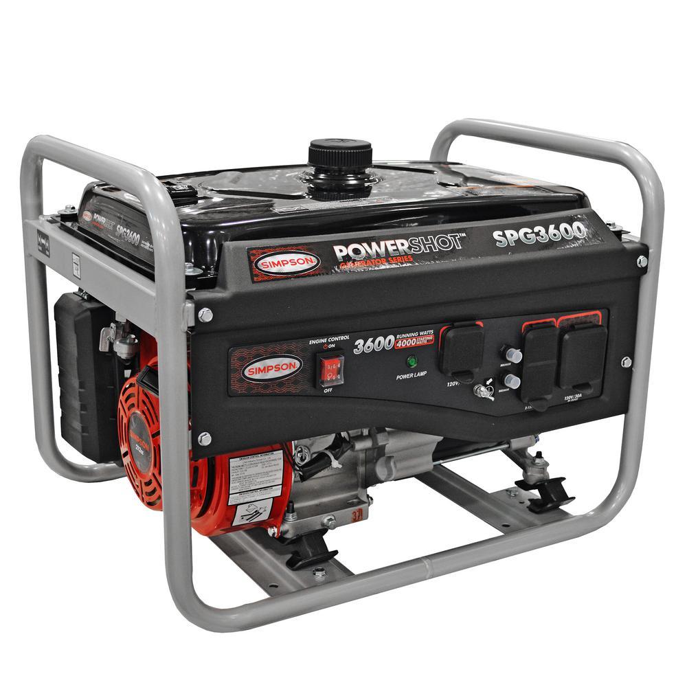 PowerShot Portable 3600-Watt Generator (49-State)