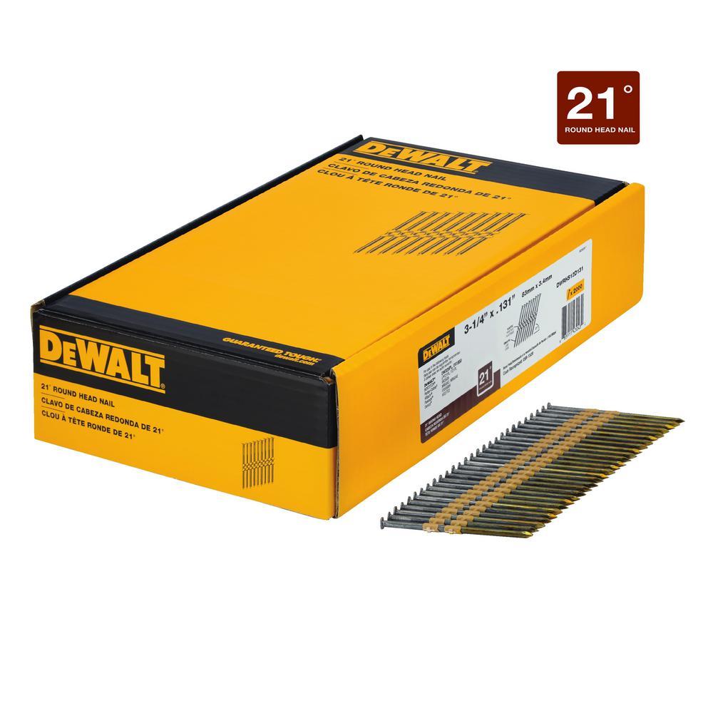 3-1/4 in. x 0.131 in. Metal Framing Nails 2000 per Box