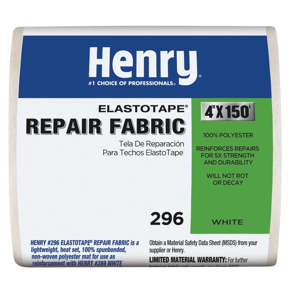 Henry 296 4 in. x 150 ft. Reinforced Fabric Elasto Tape