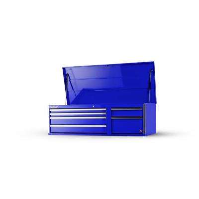 Tech Series 56 in. 6-Drawer Top Chest, Blue