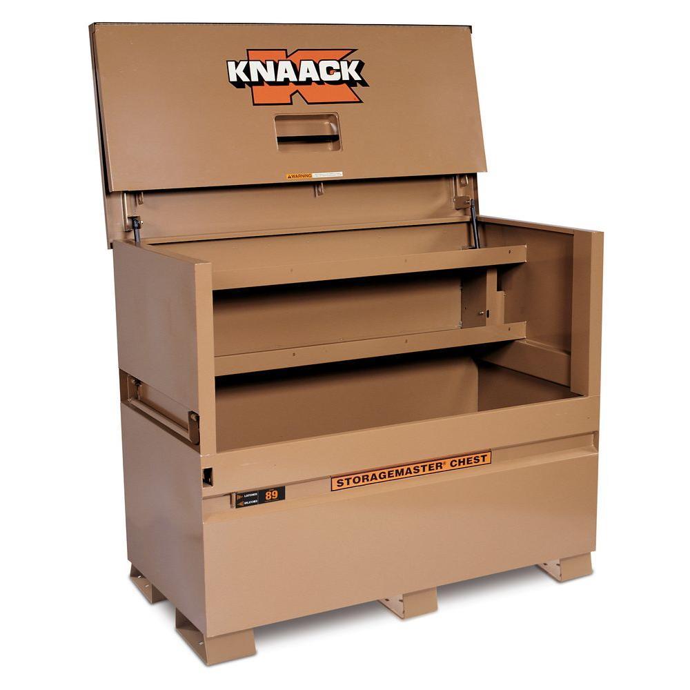 Knaack 89 STORAGEMASTER 60 in. x 30 in. x 49 in. Chest, Tan