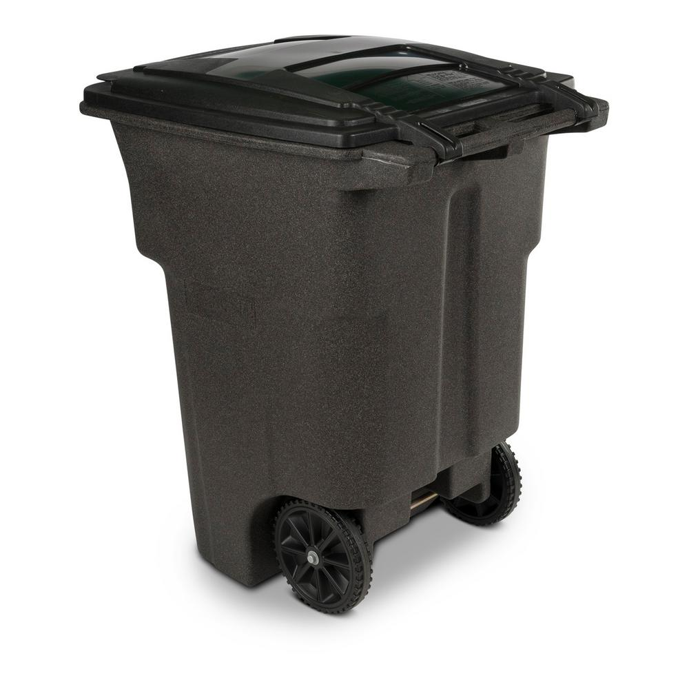 Stackable Wheeled Trash Can Waste Storage Garbage