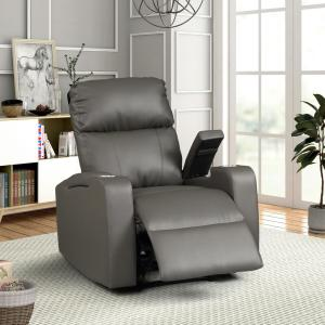 Marvelous Ac Pacific Terry Collection Modern Grey Upholstered Faux Dailytribune Chair Design For Home Dailytribuneorg