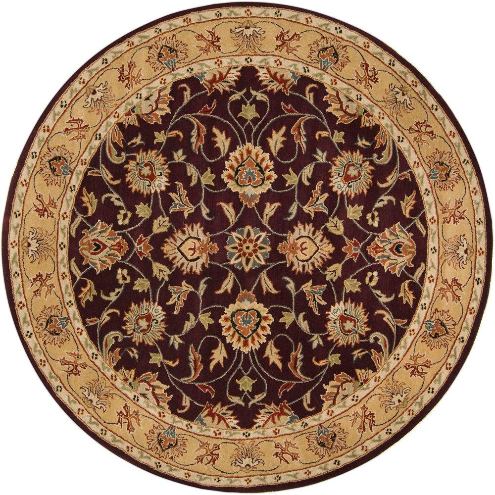 This Review Is From:John Plum 6 Ft. X 6 Ft. Round Area Rug