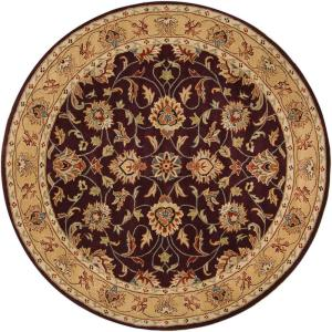Artistic Weavers John Plum 4 Ft. X 4 Ft. Round Area Rug JHN 1024   The Home  Depot