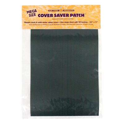 Green Swimming Pool Safety Cover Mega Patch Kit