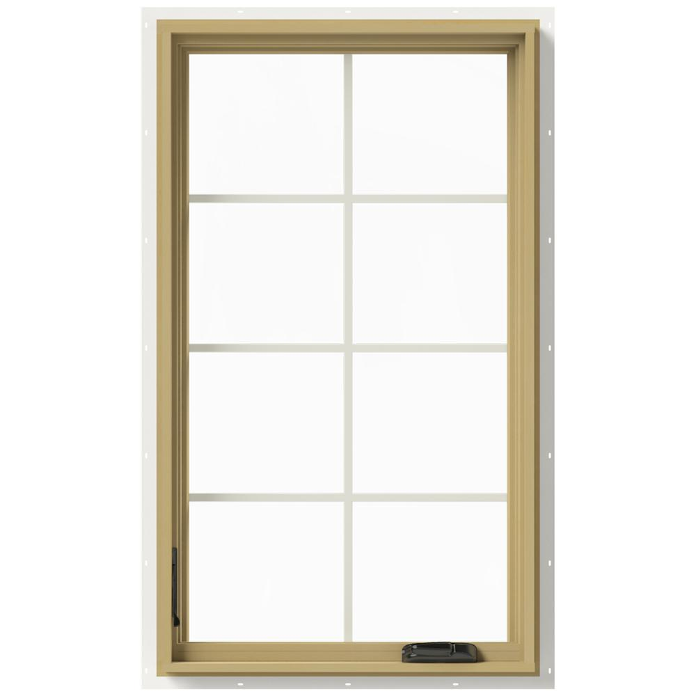 Jeld wen 28 in x 48 in w 2500 left hand casement for Buy jeld wen windows online