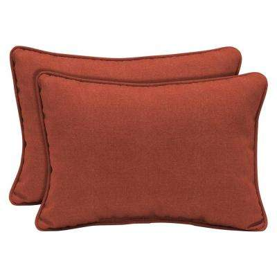 Sedona Woven Outdoor Lumbar Pillow (2-Pack)