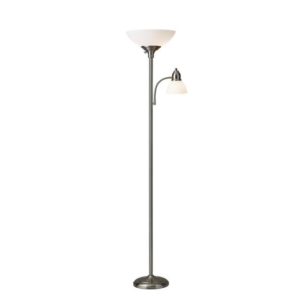 Glenn 71 in. Steel Floor Lamp