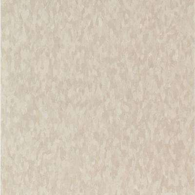 Take Home Sample - Imperial Texture VCT Mint Cream Standard Excelon Commercial Vinyl Tile - 6 in. x 6 in.