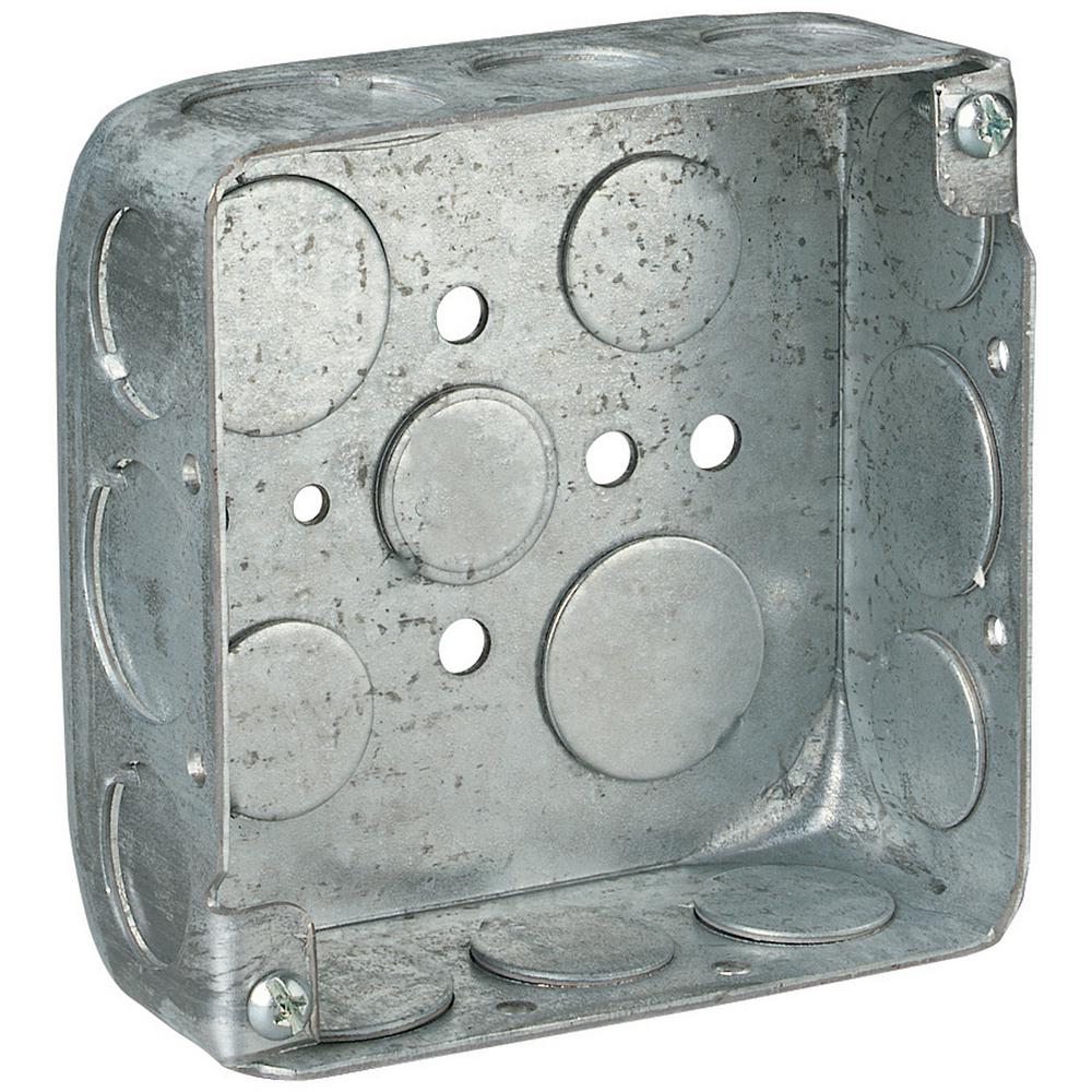 2 gang 21 cu in square wall box case of 50 521511234 50r the square wall box case of 50 sciox Choice Image