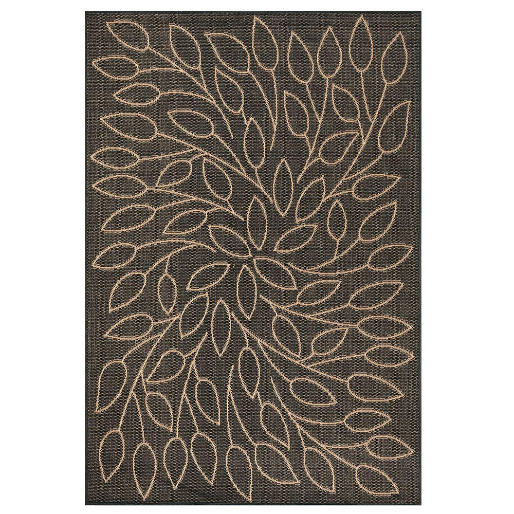 Home Decorators Collection Persimmon Black 5 ft. x 8 ft. Area Rug