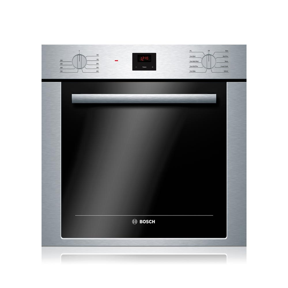 Bosch 500 Series 24 In Single Electric Wall Oven With European