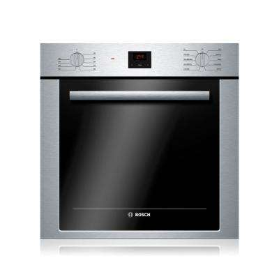 500 Series 24 in Single Electric Wall Oven with European Convection with DualCleaning in Stainless Steel