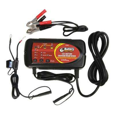 12-Volt Smart Battery Charger/Maintainer