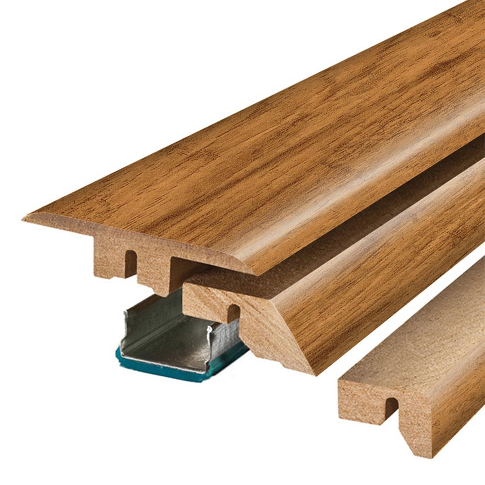 Pergo Flooring Smoked Hickory 3/4 in. Thick x 2-1/8 in. W...