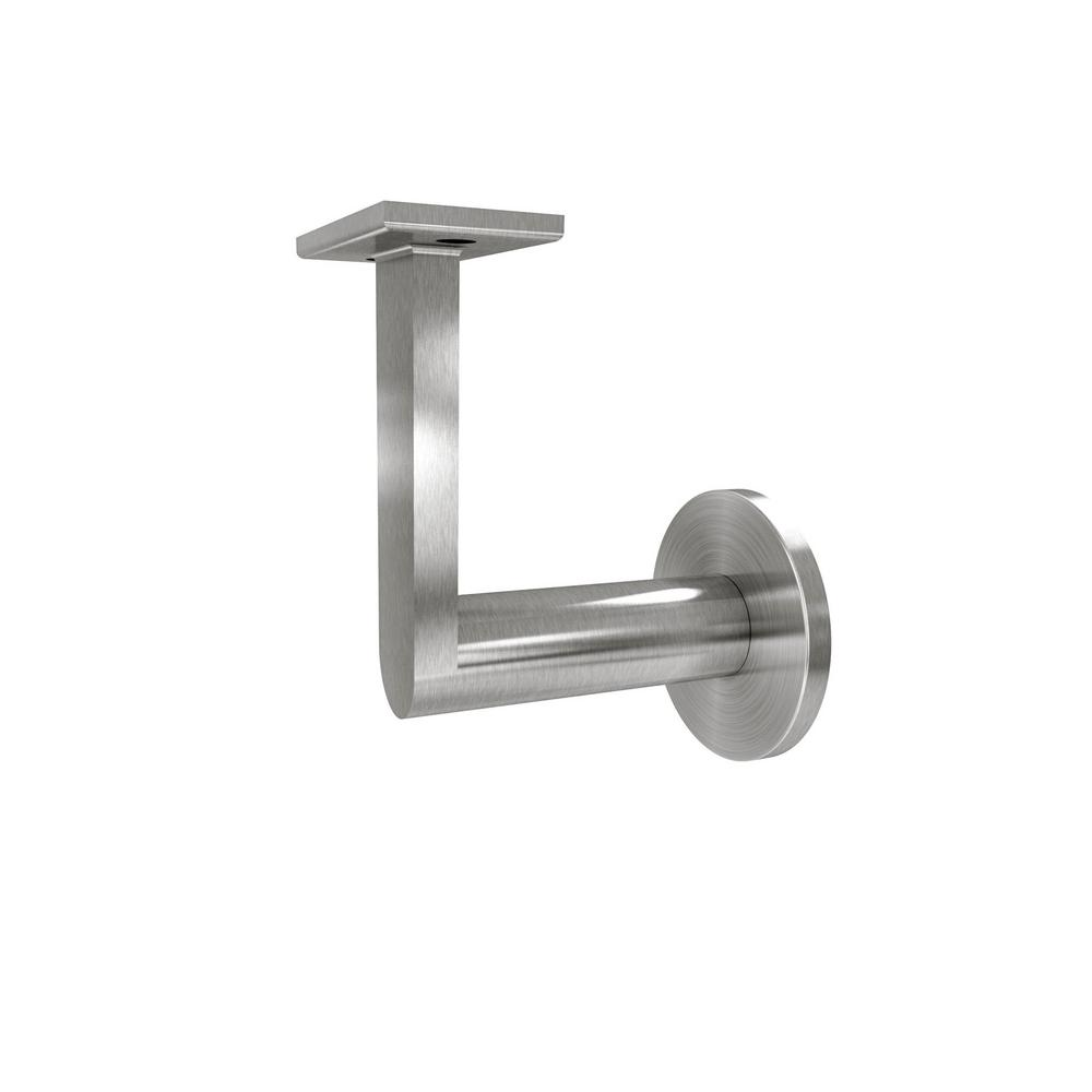 Gamma quasar in stainless steel handrail wall bracket
