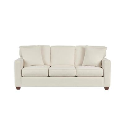Woodfield Acuff Ivory Straight Standard Sofa (83.5 in. W x 37 in. H)