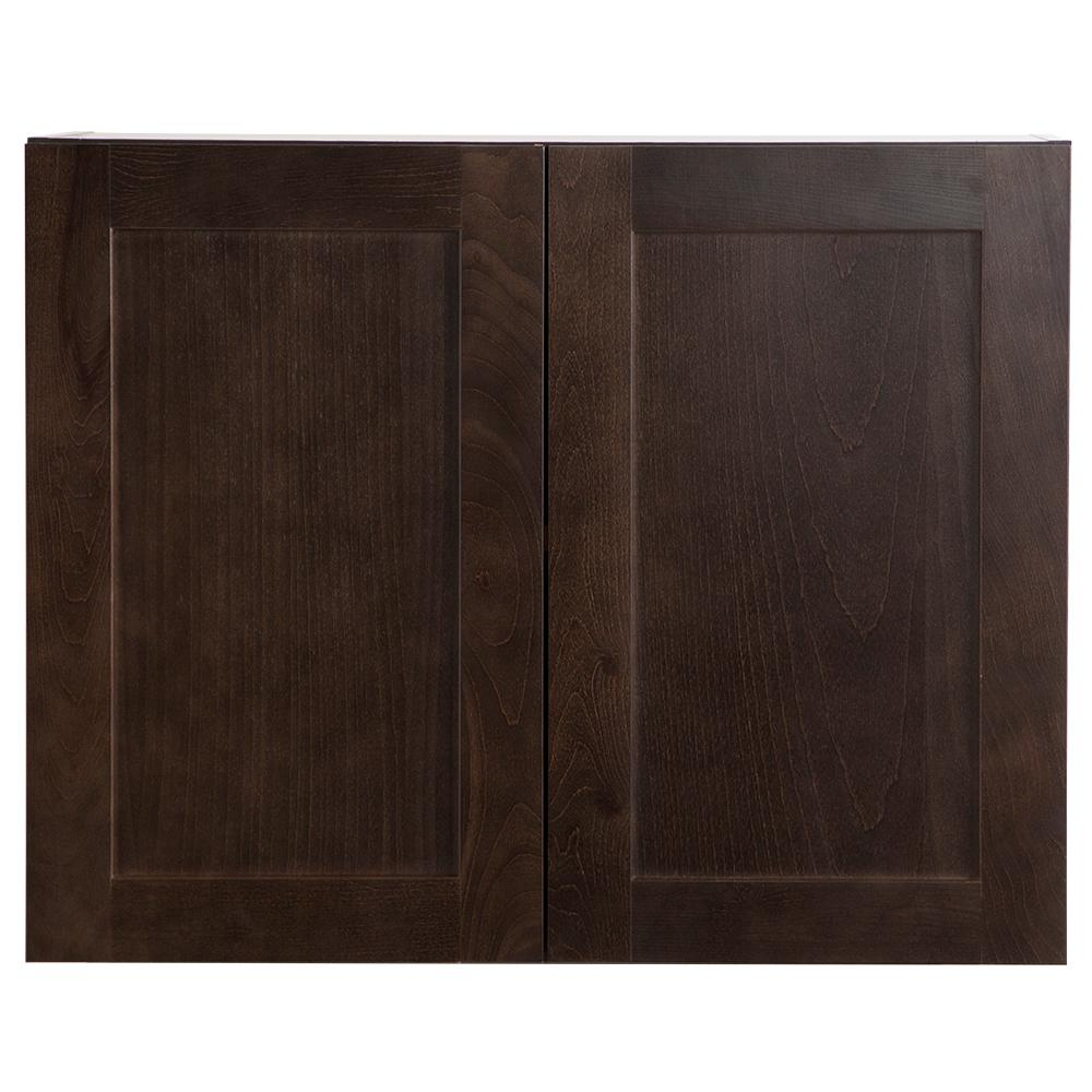 Dusk Cabinets: Hampton Bay Cambridge Assembled 30x24x12.6 In. Wall