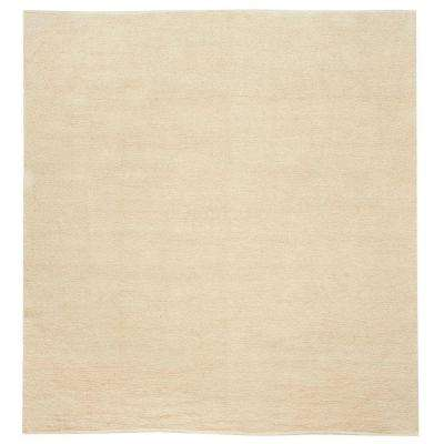 Royale Chenille Natural 8 ft. Square Area Rug